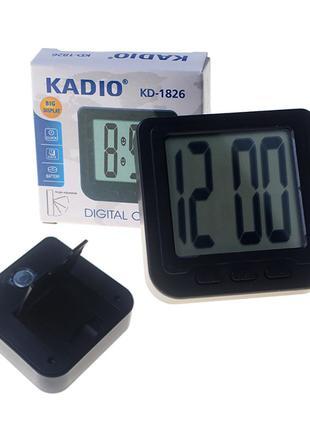 Часы Kadio KD-1826 с Магнитом и Подставкой (Электронные)