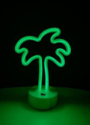 Неоновый светильник (ночник)