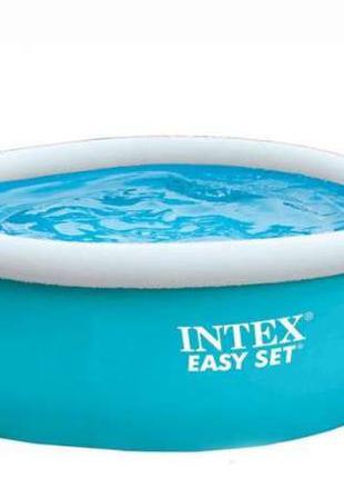 Надувной бассейн Intex Easy Set Pool 183 см