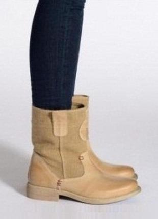Gaastra голландия оригинал! ботинки сапоги повыш комфорт натур...