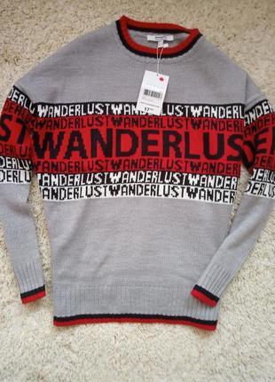 Модный свитер джемпер реглан jennyfer