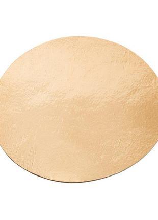 Подложка для торта круглая золотого и серебряного цвета Ø 400 ...