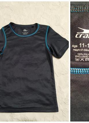 Новая спортивная футболка от crane на 11-12 лет,унисекс