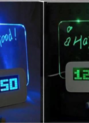 Настольные цифровые часы! Топ Продаж