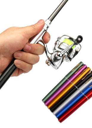Карманная ручка-удочка Pocket Fishing Rod + катушка. Мини порт...