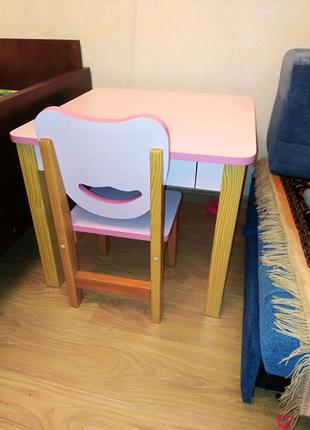Продам дитячий столик і стільчик