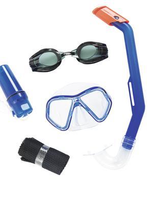 Набор 5 в 1 для плавания Bestway 24031 (маска, очки: размер S,...