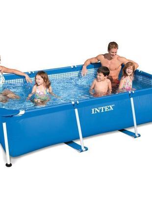 Каркасный бассейн Intex 28272 - 2, 300 х 200 х 75 см (тент, по...