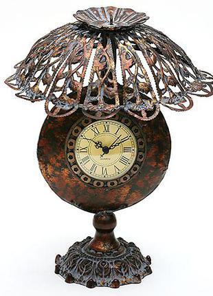 Часы настольные в форме лампы с абажуром BonaDi 412-287