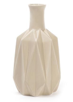 Ваза керамическая 20см, цвет - песочный BonaDi 733-149