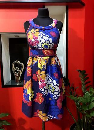 ❗️продам женское летнее яркое платье, сарафан next❗️