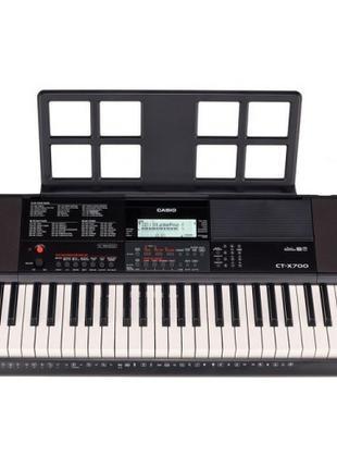 Синтезатор с автоаккомпанементом Casio CT-X700 61 дин. клавиша