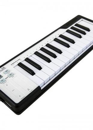 Midi-клавиатура Arturia Microlab-Black Midi 25 дин. клавиш