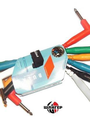 PROEL BULK500LU015 Готовый инструментальный кабель мижпедальни...