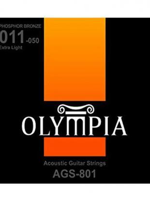 OLYMPIA AGS801 Струны для акустической гитары фосфорная бронза...