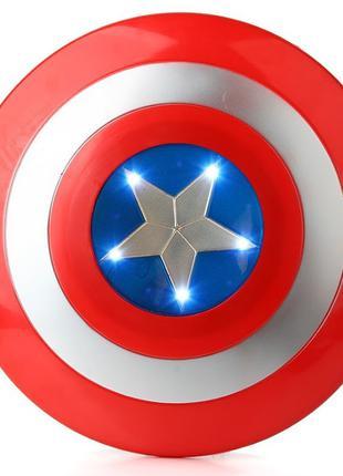 Щит Капитан Америка супергероя из фильма Марвел 32 см