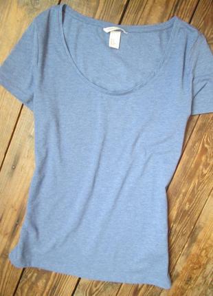 Базовая футболка h&m размер м/38 состояние идеальное