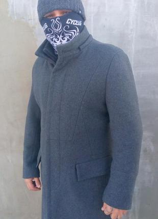 Тёплое шерстяное пальто uniworth пакистан