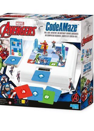 Набор для обучения детей программированию 4M Disney Avengers М...