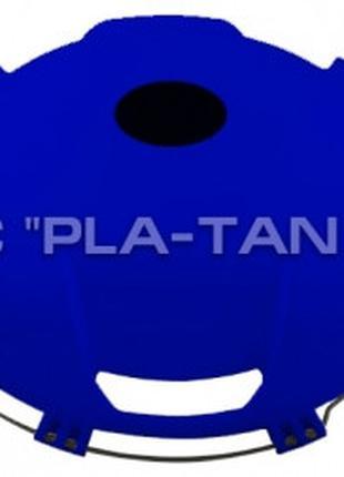 "Колпак на переднее колесо R 22,5"" из пластика синего цвета CJ1..."