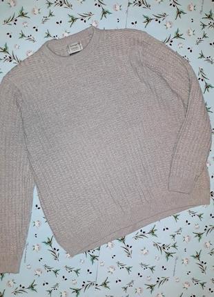 🎁1+1=3 теплый мужской вязаный свитер george в стиле кэжуал, ра...