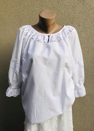 Винтаж,блузка реглан,вышиванка,рубаха кружевом,этно бохо стиль,