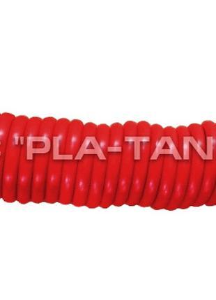 Шланг пневматический спиральный красный 6,5 м М16*1,5 для двух...