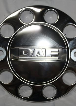Колпак нержавейка 22,5 с надписью Daf для грузовиков