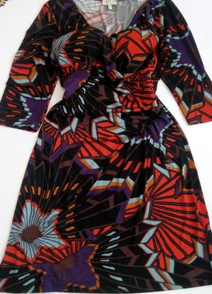 Платье миди бюстье нарядное офисное 56 большой размер  новогоднее