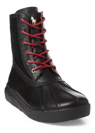 Мужские ботинки polo ralph lauren, р. 8,5 кожа, оригинал