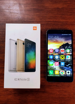 Продам Xiaomi redmi not 3,версия 2/16