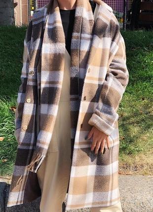 Женское пальто season цвета кэмэл