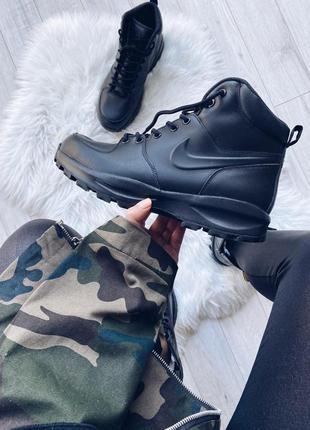 Шикарные мужские зимние ботинки/ кроссовки nike manoa leather ...