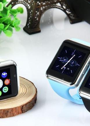 Умные часы Smart Watch A1. Смарт-часы A1 (золотые, красные, че...