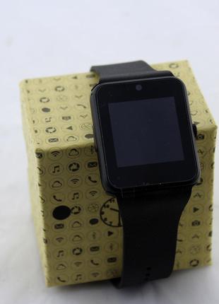 Умные часы Smart Watch GT08 Black (Без замены брака!!!)