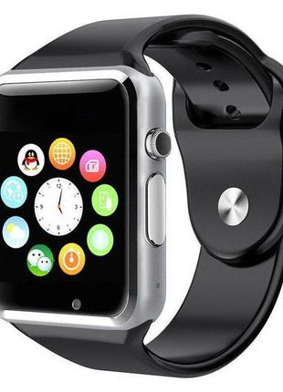 Умные смарт часы A1 Smart Watch silver