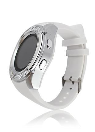 Умные смарт часы Smart Watch V8 белые