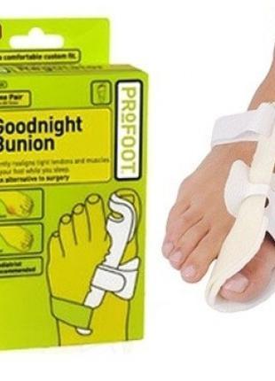 Ортопедический корректор для большого пальца ноги Goodnight Bu...