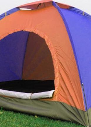 Палатка С Автоматическим Каркасом Цветная 4-х Местная Палатка ...