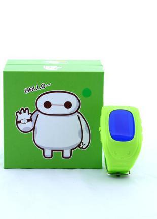 Детские умные часы - телефон с GPS трекером Q50
