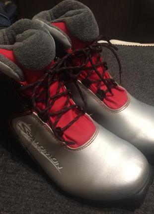 Salomon sns profil ботинки для беговых лыж р.36-37