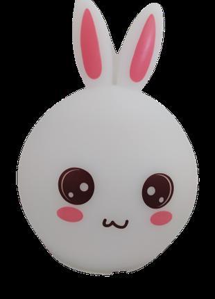 Оригинальный детский ночник Rabbit Silicone Lamp, LED лампа, с...