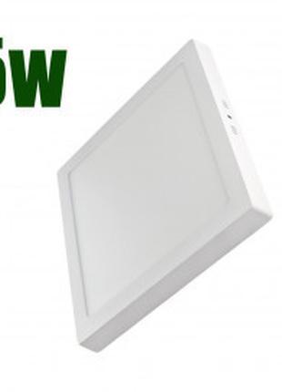 Светодиодный светильник LEDEX квадрат накладной 5Вт 4000К