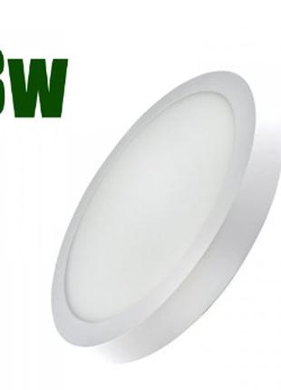 Светодиодный светильник LEDEX круг накладной 8Вт 4000К