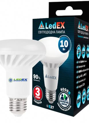 Светодиодная лампа LEDEX 10Вт E27 4000К R63