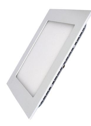 Светодиодный светильник LEDEX квадрат 6Вт 4000К 480lm