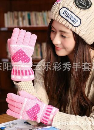 Теплые перчатки 710н