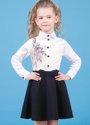 Блузка для девочки 7-12 лет