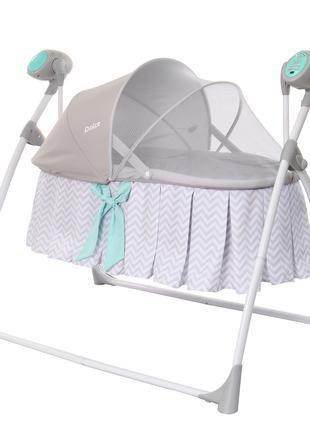 Детские люлька-качели с подушкой и пультом управления CARRELLO...