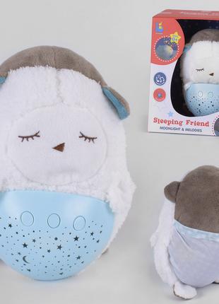 Ночник мягкая игрушка с проектором звездного неба Овечка JLD 3...